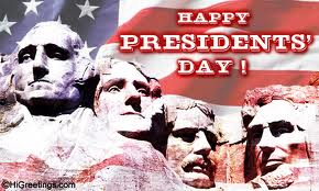 Happy Presidents' Day!!